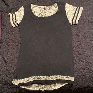 Vanity lace shirt size S, gently used